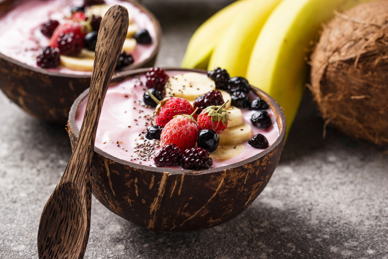 Acai Berry Yogurt Mix